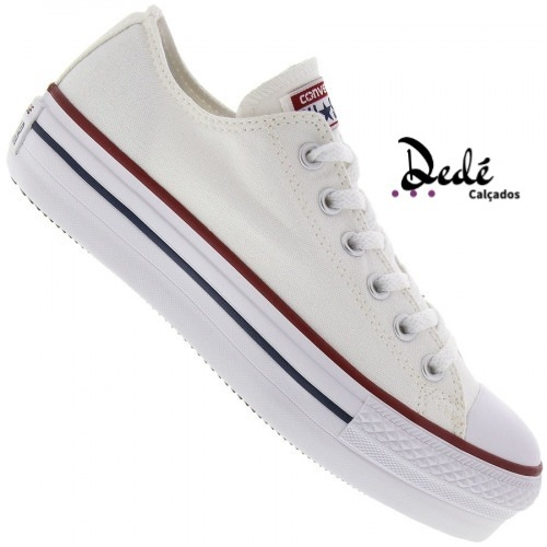 38a3355e13 All Star Converse Branco Original Flatform - R  170