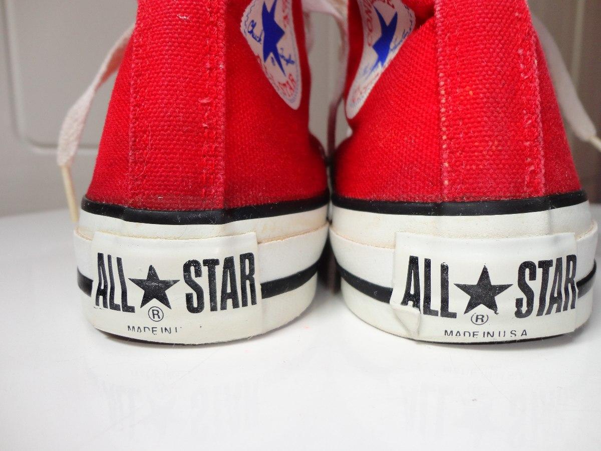 6ca32d060852 all star converse made in usa original. Carregando zoom.