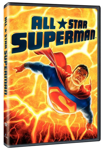 all star superman dc universe dvd original nueva y sellad