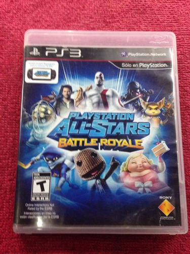 all stars battle royale ps3 play 3 vendo o cambio físico