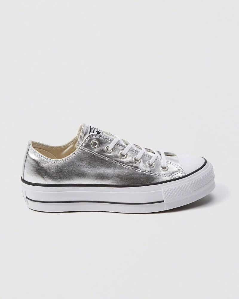 Limo Peregrinación dolor de muelas  all star plateadas plataforma - Tienda Online de Zapatos, Ropa y  Complementos de marca