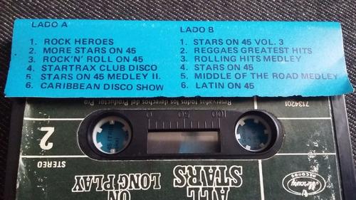 all stars on long play casette musica disco