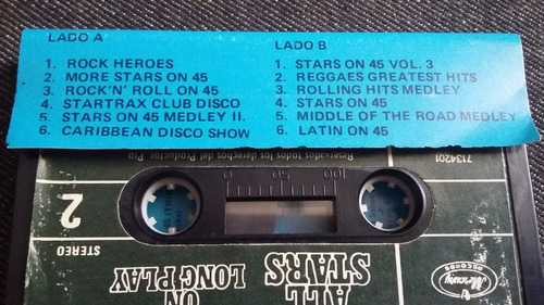 all stars on long play cassette musica disco