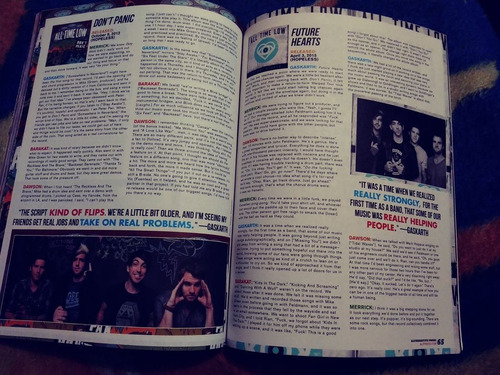 all time low 5 seconds of summer revista ap