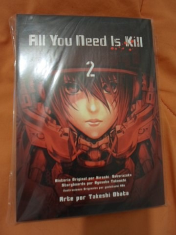 all you need is kill increible panini manga completa
