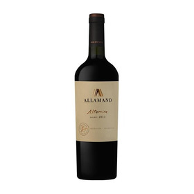 Allamand Altamira Malbec 2014 - Caja X 6 Botellas (750 Cc)