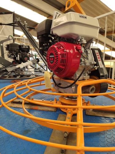 allanadora de 48  con motor honda de 9 hp
