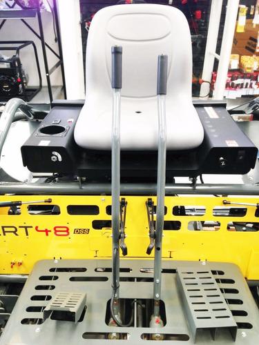 allanadora doble crt 48-35v, peso 508kg,10 aspas,