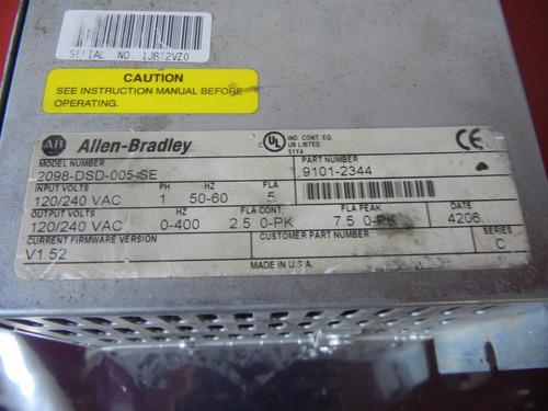 allen-bradley 2098-dsd-005-se ultra 3000