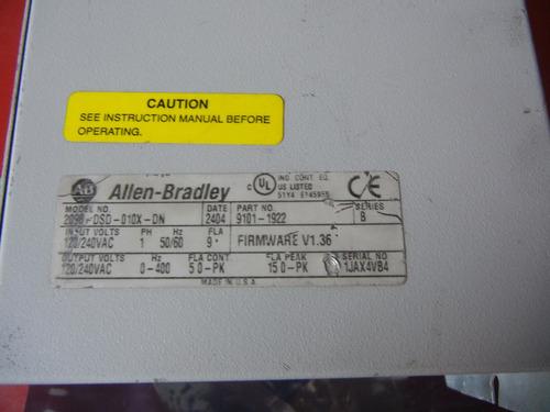 allen-bradley 2098-dsd-010x-dn ultra 3000