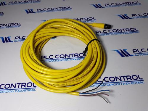 allen-bradley 889d-m5ac-10 cable de pvc, amarillo