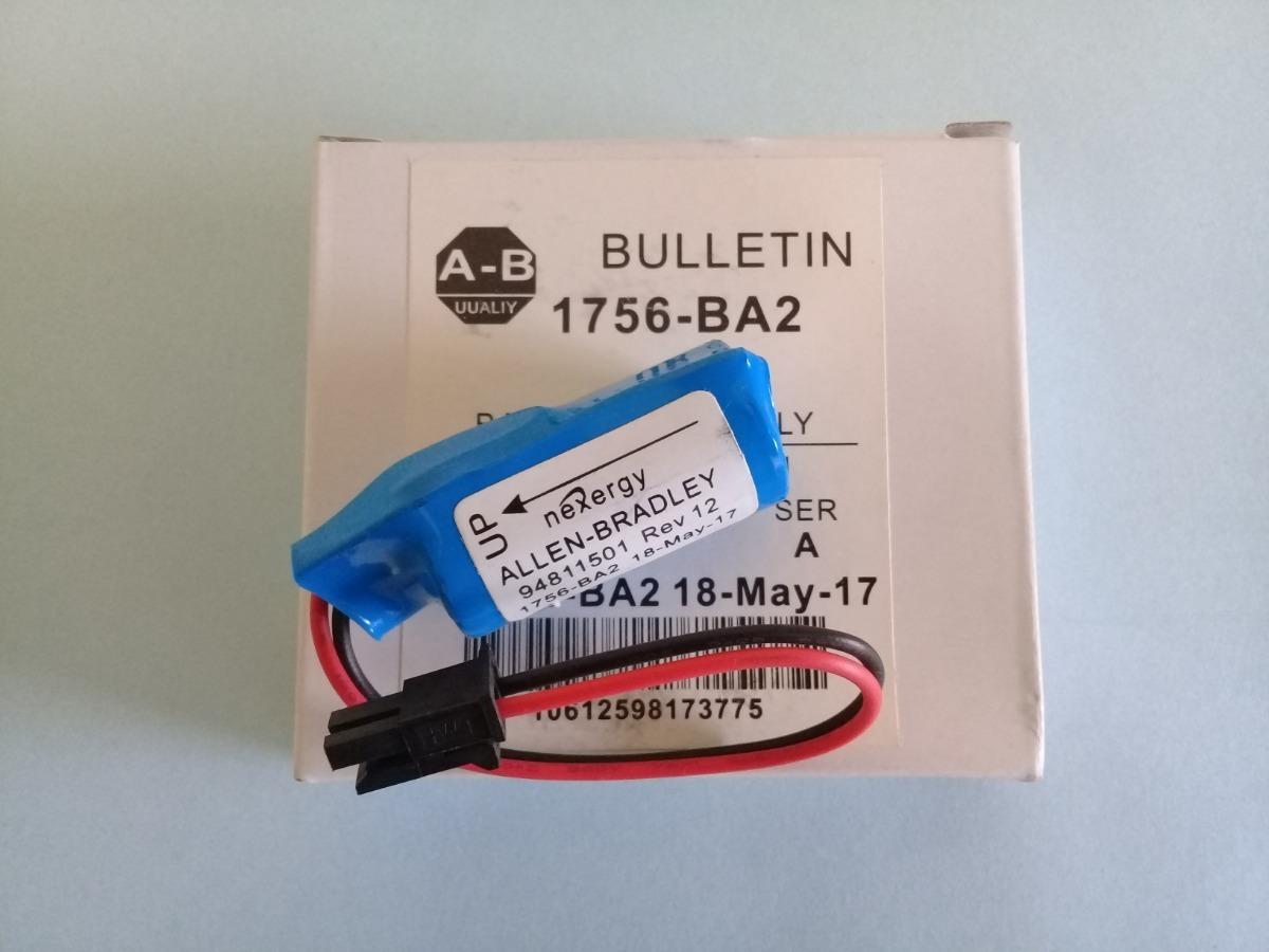 Allen Bradley Batería Litio 1756-ba2 Plc Controllogix-5000