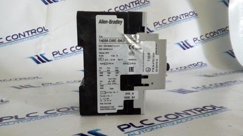 allen bradley  motor protección disyuntor 140m-d8e-b63 *