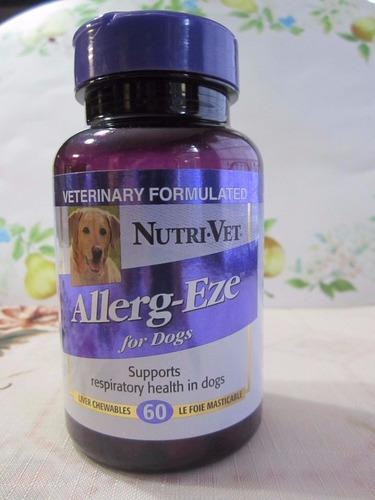 allerg-eze soporte respiratorio para perros marca nutri vet