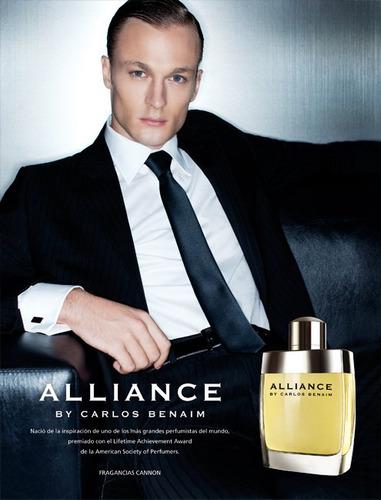 alliance by carlos benaim edt 80ml con vapo - original
