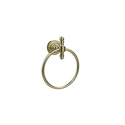 allied latón rd -16- sbr 6 pulgadas toalla anillo , satén