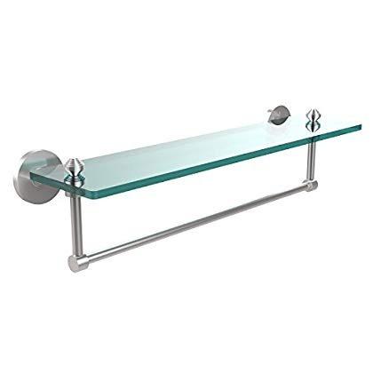 allied latón sb -1tb / 22- sch estante vidrio con bar toall