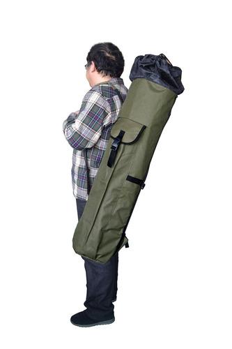 allnice - funda para transportar y organizar cañas de pes