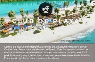 allure en puerto cancún. condominio de lujo con vista al mar. preventa. depto. 3 recs.