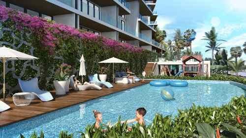 allure en puerto cancún. condominio de lujo con vista al mar. preventa. depto. 4 recs.