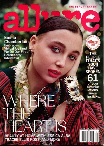 allure us - assinatura 6 revistas avulsas impressas