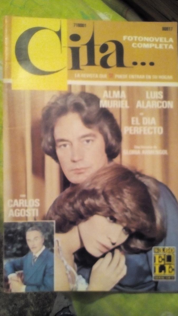 Alma Muriel Fotos alma muriel y luis alarcón en fotonovela cita - $ 90.00