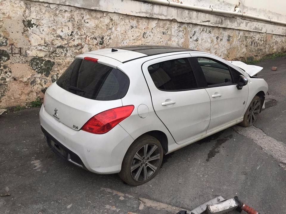 Alma Parachoque Traseiro Original Peugeot 308 - R$ 359,00 ...