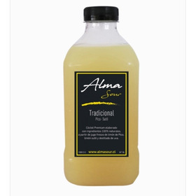 Alma Sour Tradicional, Pisco Sour Natural, Botella 1lt