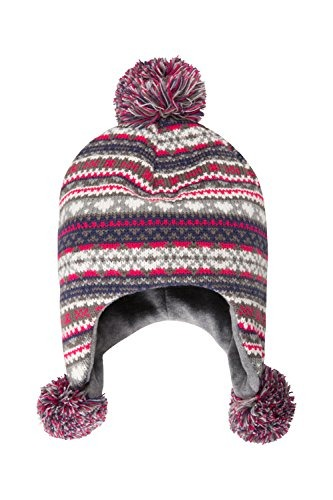 Mountain Warehouse Knitted Junior Pom Pom Hat