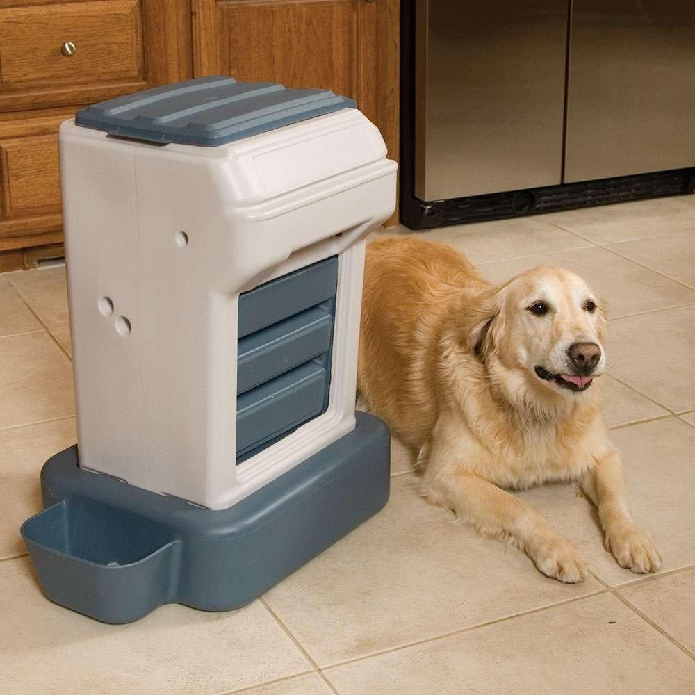 Almacen dispensador de agua y alimento perros gatos k9 for Dispensador de comida para perros
