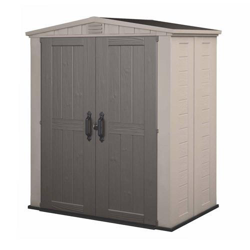almacenamiento exterior casa bodega keter factor 6x3