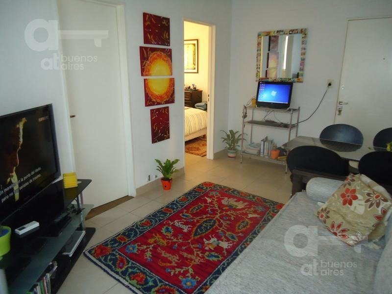 almagro, departamento 2 ambientes con balcón, alquiler temporario sin garantía!