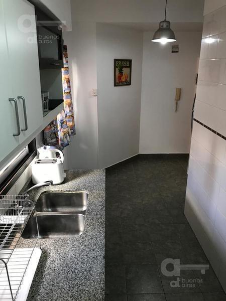 almagro- departamento 3 ambientes al frente- balcon - piscina-alquiler temporario-sin garantia