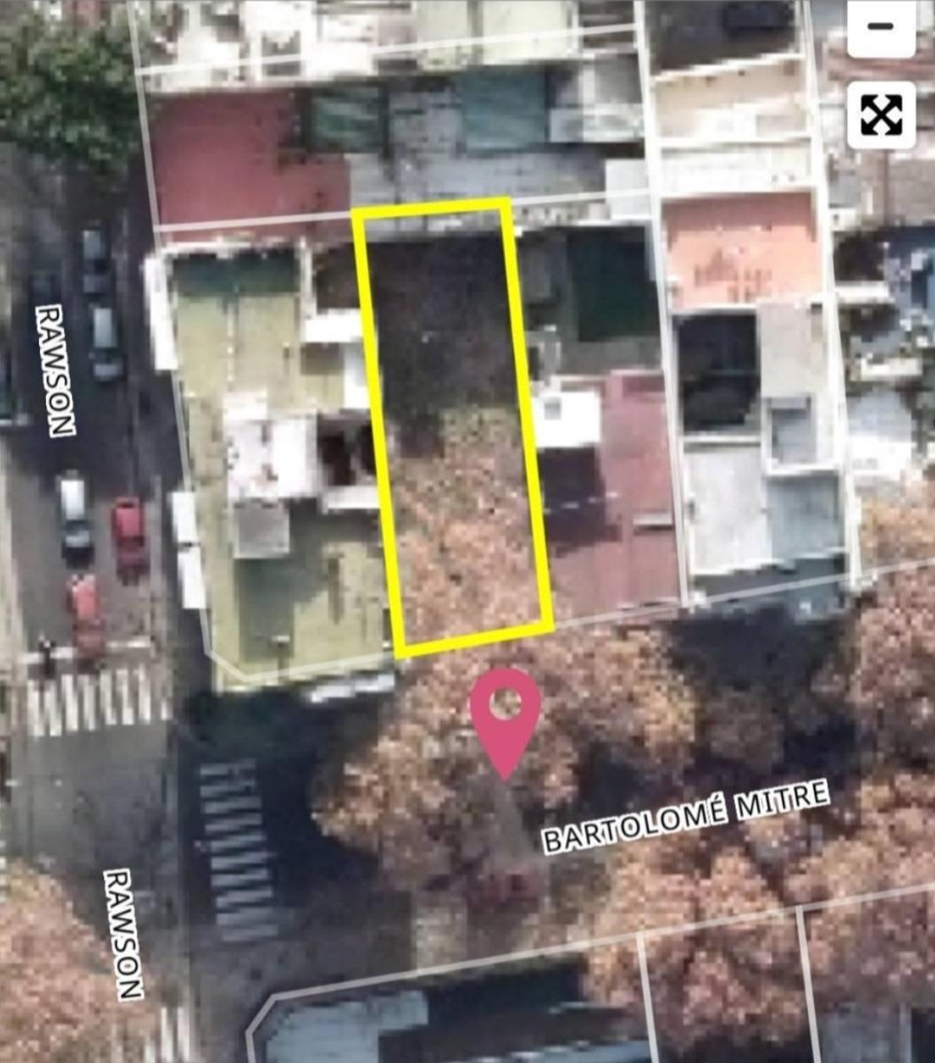 almagro lote p/construccion 1087m2 vendibles(inmobiliaria)