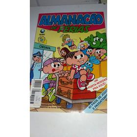 Almanacão De Férias Nº 19 Turma Da Mônica * A2