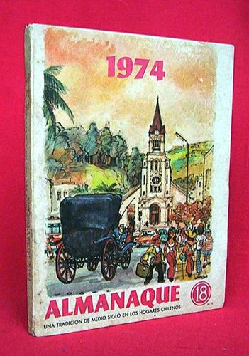 almanaque 18 año 1974 portada de lukas