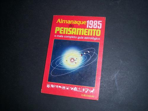 almanaque 1985 do pensamento.