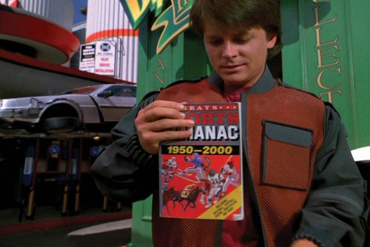 Resultado de imagen para almanaque back to the future