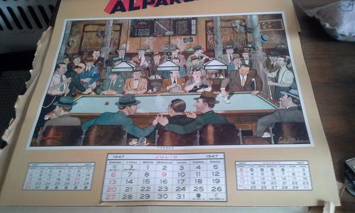 almanaque alpargatas 1947 completo