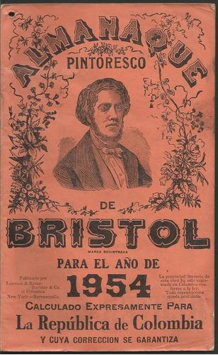 almanaque bristol 1954