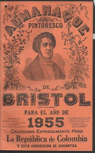 almanaque bristol 1955