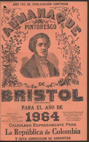 almanaque bristol 1964