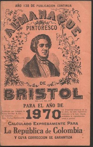 almanaque bristol 1970