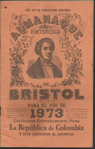 almanaque bristol 1973