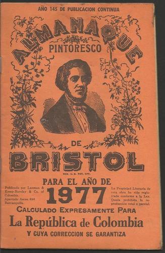 almanaque bristol 1977