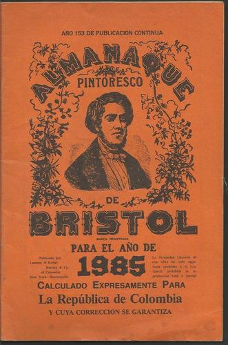 almanaque bristol 1985