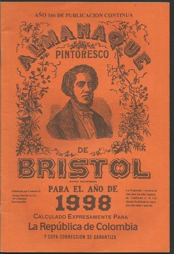 almanaque bristol 1998