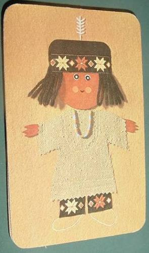 almanaque calendario bolsillo año 1970 muñeco infantil 4