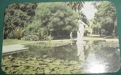 almanaque calendario bolsillo año 1986 jardin botanico
