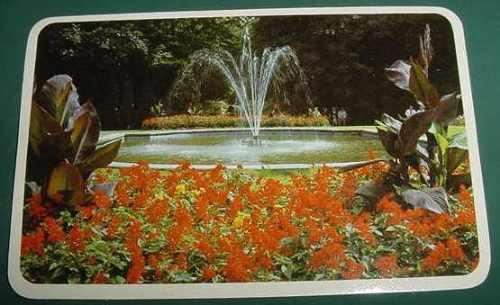 almanaque calendario bolsillo año 1988 fuente flores plaza